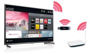 Za pomocą czego można podłączyć telewizor do sieci domowej, jeśli nie można ułożyć kabla HDMI