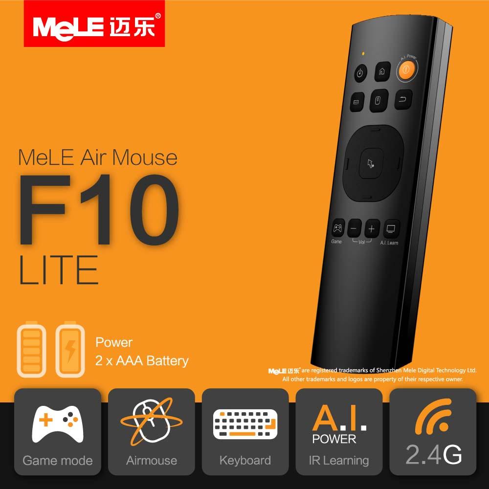3-in-1 Klawiatura Bezprzewodowa-Smart Air Mouse-Pilot IR Mele F10 Lite,                         <a class=