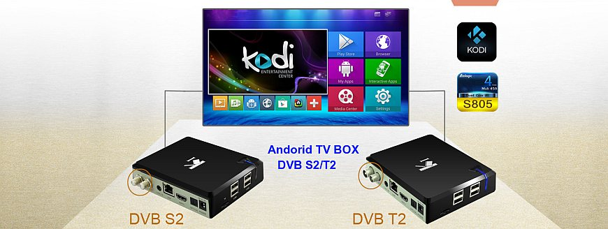 Buy Android TV Box KI PLUS DVB-T2/C/S2