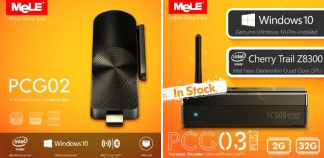 Nowości od MeLE | PCG02 & PCG03 PLUS